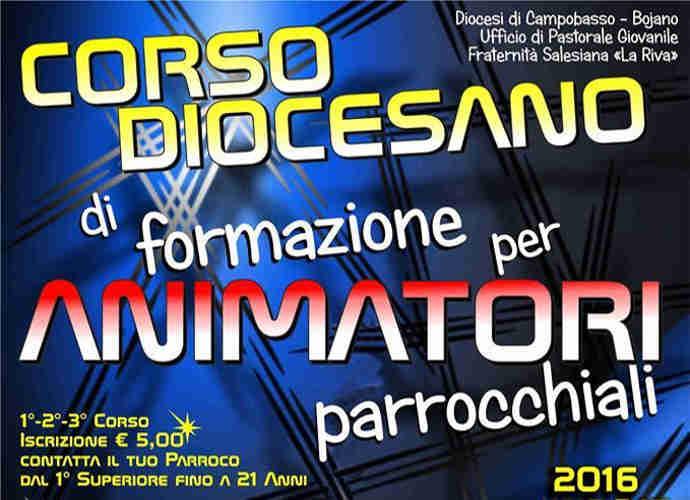 Campobasso e parrocchie, corsi di formazione per animatori