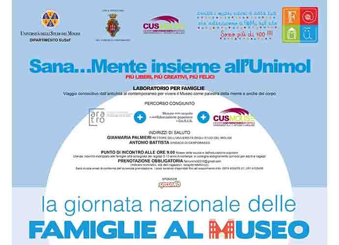 Domenica tutti al museo Unimol con Paola Giorgetta guest star