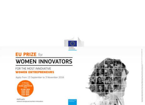 Donne e innovazione, il bando per il Premio Europeo 2017