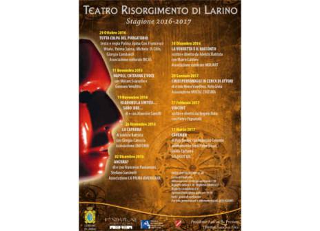 Larino, una ricca programmazione al Teatro Risorgimento