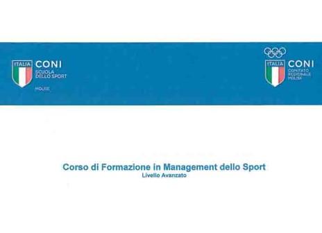 Management dello Sport, corso di formazione a Campobasso