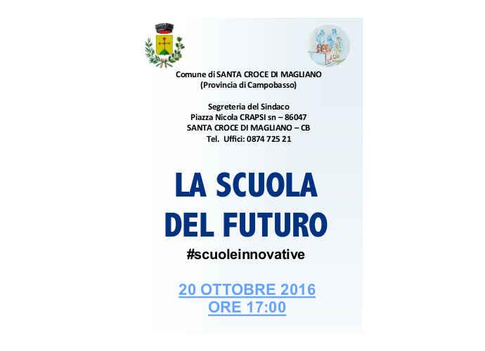 Santa Croce di Magliano presenta la Scuola del Futuro