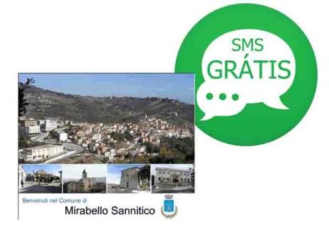 Anche il Comune di Mirabello comunica col servizio SMS gratuito