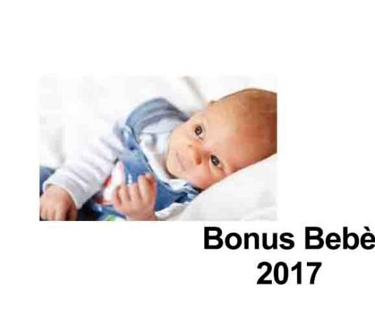 Bonus Bebé 2017: chi può richiederlo e come fare