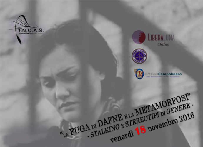 Campobasso, con Liberaluna si parla di stalking e violenza di genere