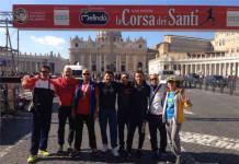 Corsa dei Santi a Roma, tanti i molisani presenti