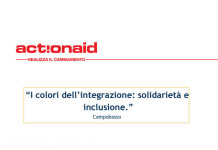 I colori dell'integrazione, progetto Action-Aid per Campobasso