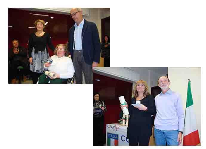 Immacolata Colangelo e Carmen Buonviaggio ricevono il Premio Coni 2016