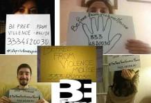 """Liberi dalla violenza, fatti un selfie e partecipa alla campagna """"BeFree"""""""