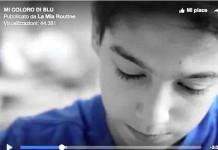 Mi coloro di blu, il corto sull'autismo in cui ciascuno è speciale