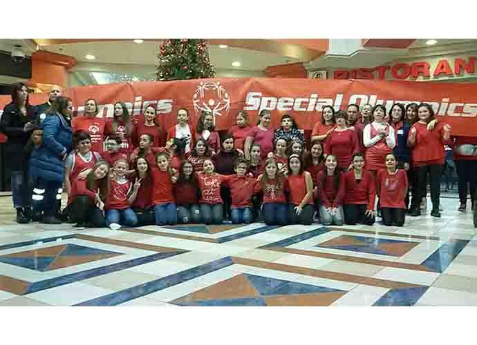 Il flashmob Special Olympics elettrizza il Centro del Molise