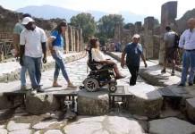 Riaprono gli scavi di Pompei con un percorso ad hoc per i disabili