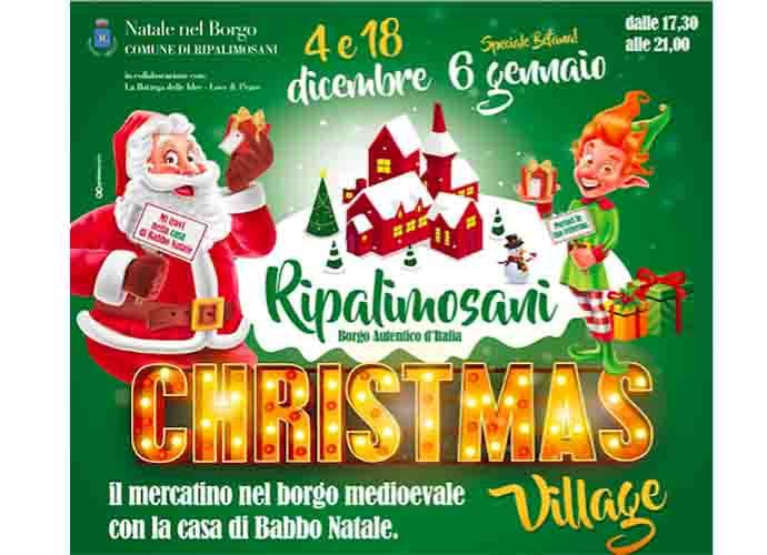Ripalimosani, Christmas Village. La magia del Natale avvolge il borgo antico