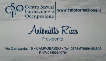 CSFO Centro Servizi Formazione e Occupazione