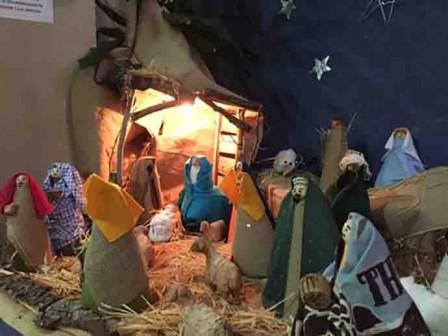 Termoli (Campobasso), Presepe realizzato da bimbi di 5 anni asilo Campolieti