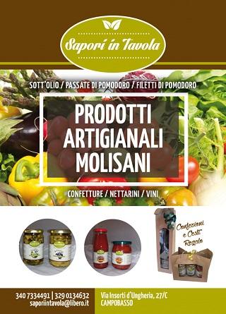 Sapori in tavola Campobasso Molise prodotti tipici