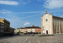Montagnana la piazza