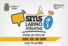 servizio sms larino