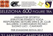 Eures Campobasso, animatori sportivi, istruttori fitness e yoga, ballerini, coreografi