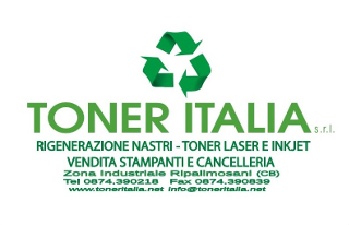 Toner Italia Ripalimosani rigenerazione nastri, cartucce laser e ink jet