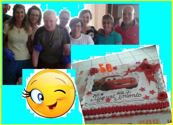 Antonio compleanno evid