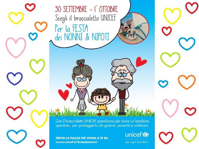 festa dei nonni UNICEF 2017