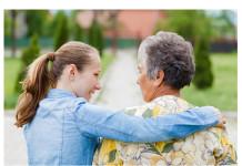 young caregiver