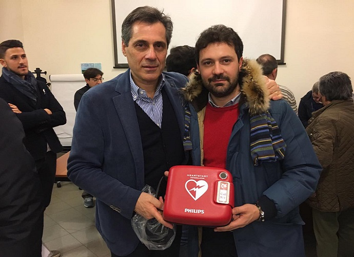 defibrillatore santa croce