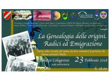 evento genealogia
