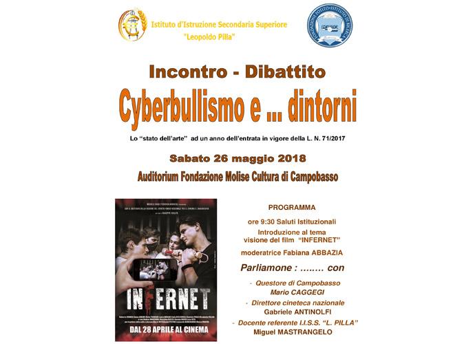 locandina cyberbullismo