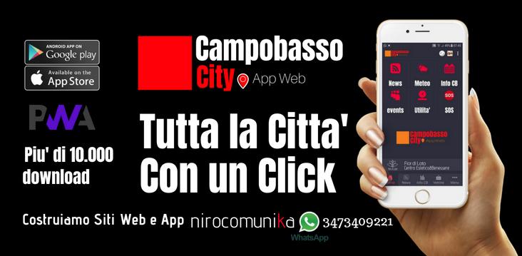 Campobasso City - Tutta la città in un click