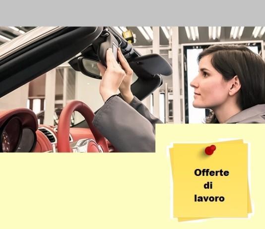 lavoro in Porsche