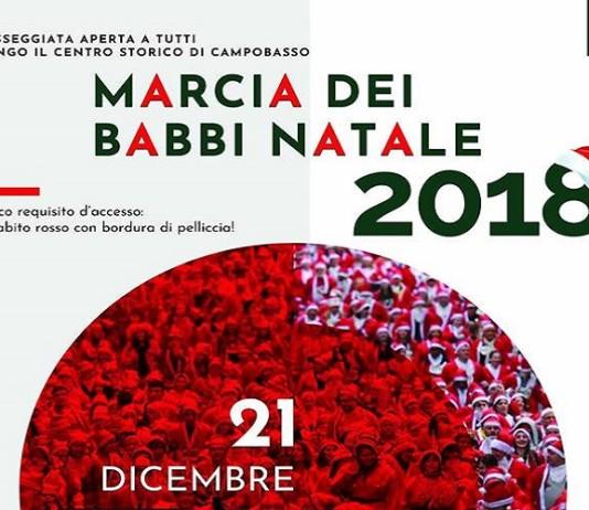 Marcia dei babbi Natale 2018 - Campobasso
