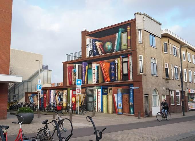 Jan Is De Man street art