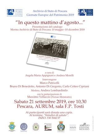 Giornate Europee del Patrimonio - Pescara