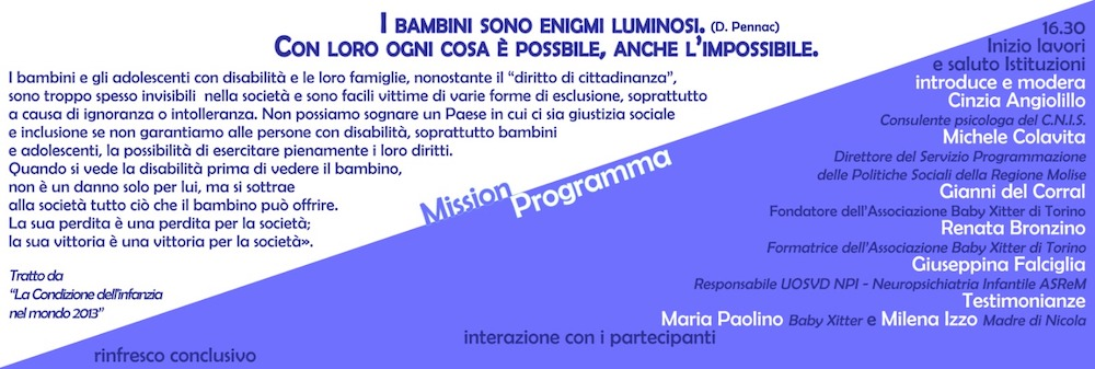 Progetto baby xitter - Campobasso