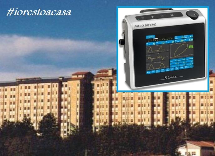 Cardarelli-Campobasso ventilatore polmonare