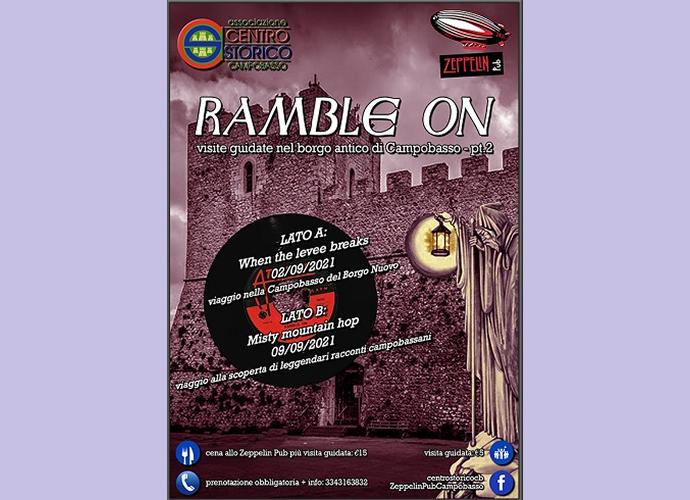 Ramble ON - Visite guidate borgo antico Campobasso - Zeppelin pub Campobasso